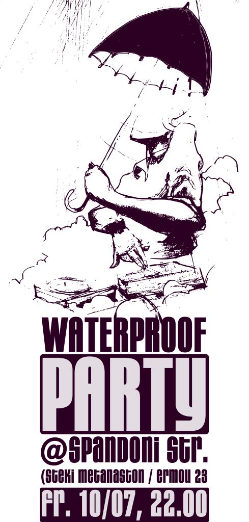 waterproof party