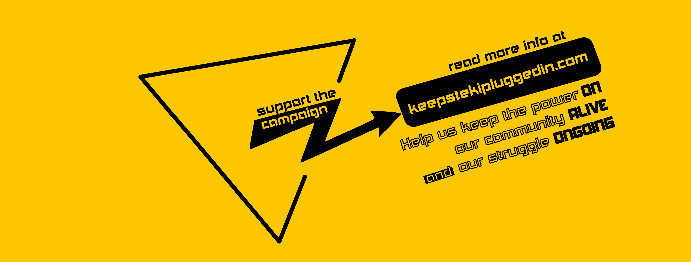 Keep Steki Plugged In! || Βοηθήστε το Στέκι να παραμείνει ανοιχτό!