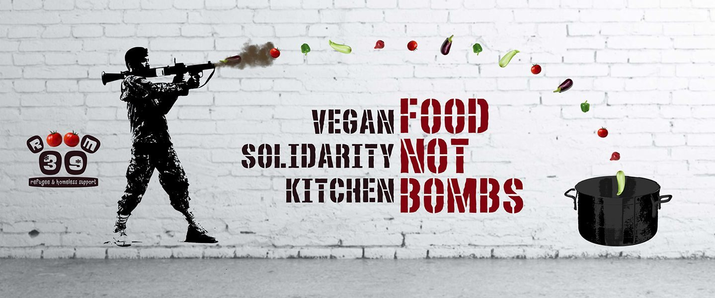 Vegan Solidarity Kitchen - Food not Bombs || Room39